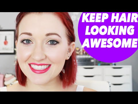 keep your hair strong awesome even when bleaching