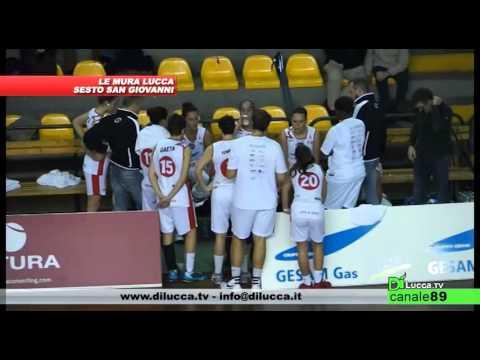CAMPIONATO 2015/2016 - Basket Le Mura Lucca vs Sesto San Giovanni (72-51)