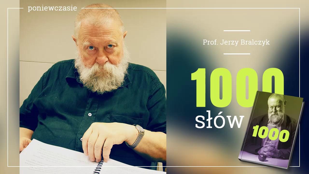 """KSIĄŻKA NA GŁOS: """"1000 słów"""" profesora Bralczyka w TOK FM. Część 5 – poniewczasie!"""
