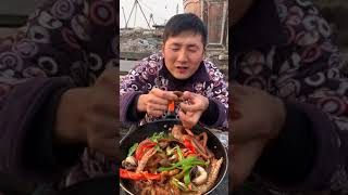 ASMR MUKBANG | 직접 만든 매운 해물찜 팽이…