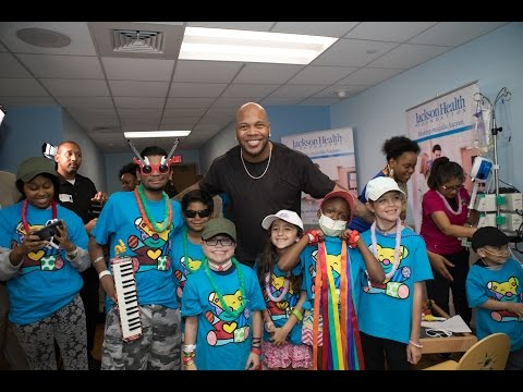 "Jackson Health Foundation Celebrity Ambassador Flo Rida ""My House""  #LetYourHeartFlo"