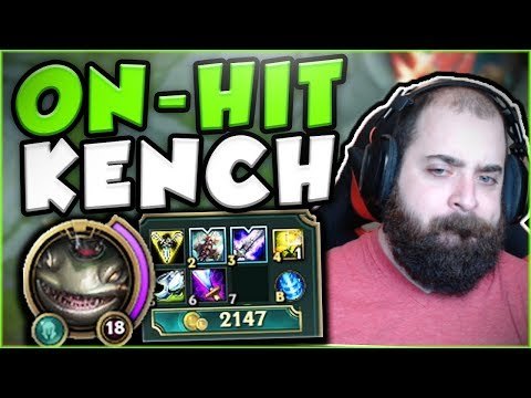 Download Youtube: THIS NEW ON-HIT KENCH BUILD IS ACTUALLY LEGIT! ON-HIT TAHM KENCH TOP GAMEPLAY! - League of Legends