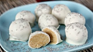 How to Make Peanutbutter Snowballs Dessert  Six Sisters Stuff