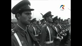 Romanian military parade - 23 August 1973