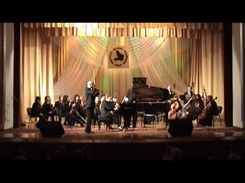 Concerto in D Minor for Violin, Piano and Strings (Felix Mendelssohn)