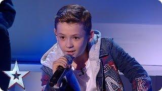 Isn't HE lovely? Calum Courtney melts hearts at the Semi's! | Semi-Finals | BGT 2018
