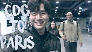 샤를드골 공항에서 파리 시내가기! par 한국남자 par Paris Oppa 파리오빠