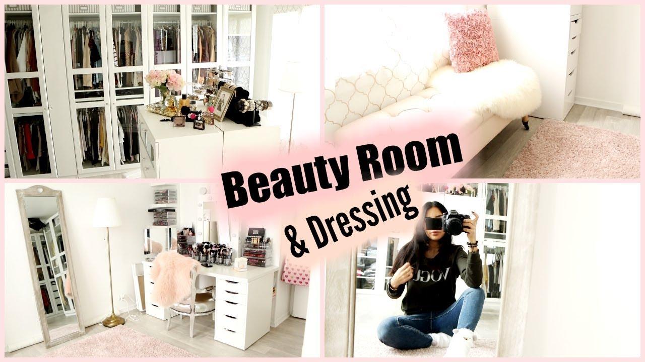 Dressing À L Américaine dressing & beauty room ♡ idées déco et organisation !