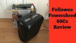 Fellowes Powershred 60Cs Cross-Cut Review