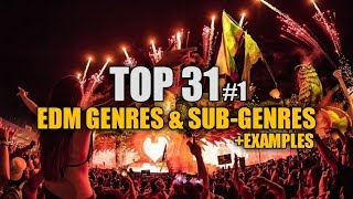 (Top 31) EDM Genres & Sub-Genres (+examples) | Baysyko #1