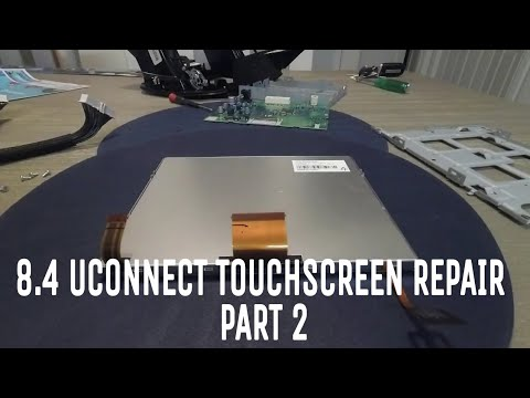 Chrysler 300 8.4 RB5 RE2 Uconnect touchscreen repair (How to)... Part 2
