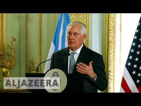 🇻🇪 Tillerson: US considering sanctions on Venezuela oil