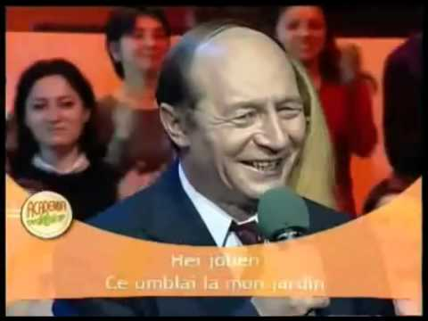STIRIPESURSE.RO Traian Basescu canta live la Antena 1