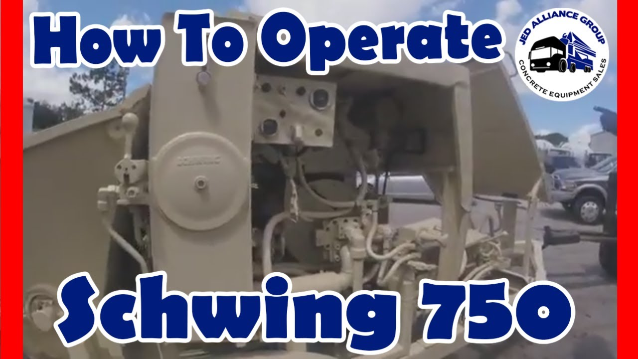 Learn How to Operate a Concrete Pump | Schwing 750