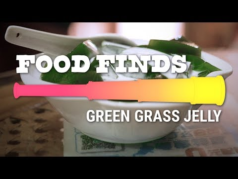 Green Grass Jelly: Food Finds