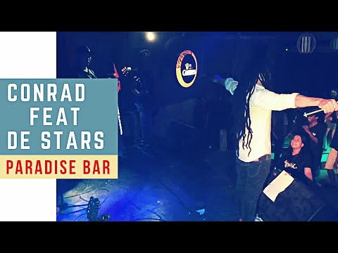 Conrad Good Vibration feat De Stars (Raging Fyah-Irie vibes_cover) in Paradise Bar