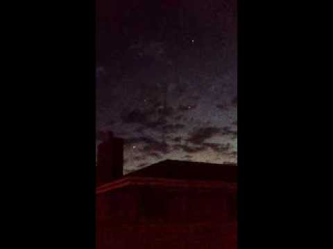 Australian UFO video captured near Melbourne   December 2nd, 2013