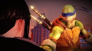 Teenage Mutant Ninja Turtles: Out of the Shadows - Walkthrough Part 10 - Chapter 3 - Rooftops Part 2