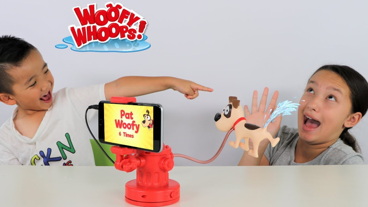 Woofy Whoops Funny Dog Wee Board Games Fun With Ckn Toys Youtube