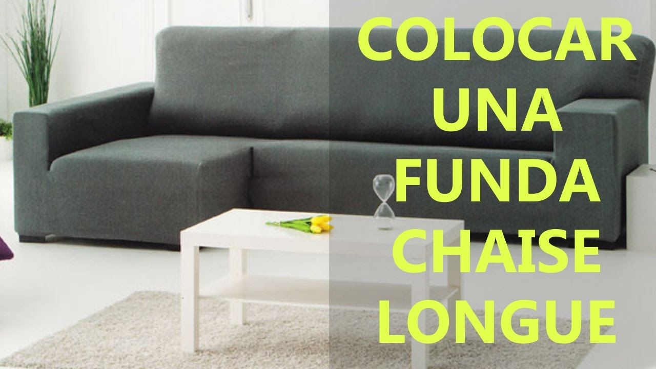Cómo colocar funda chaise longue | Replace chaise longue cover : chaise lon - Sectionals, Sofas & Couches