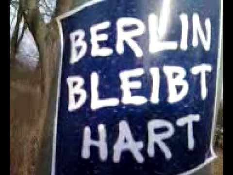 BERLIN BLEIBT HART Aufkleber