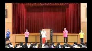 2014年7月18日(金)の終業式に、姿勢戦隊深レンジャーがやってきま...