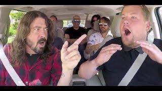 Foo Fighters em entrevista com James Corden LEGENDADO (Parte 1)