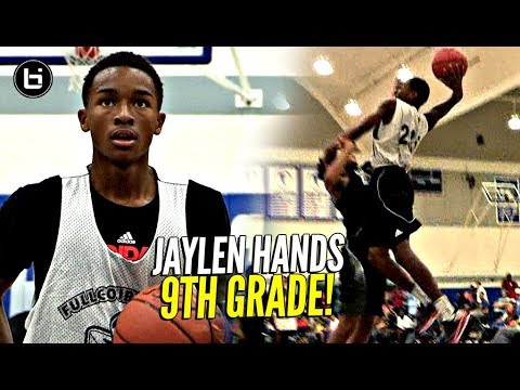 Jaylen Hands In 9th Grade! The Baby Faced Assassin! Was STILL Trying To BAPTIZE Dudes!
