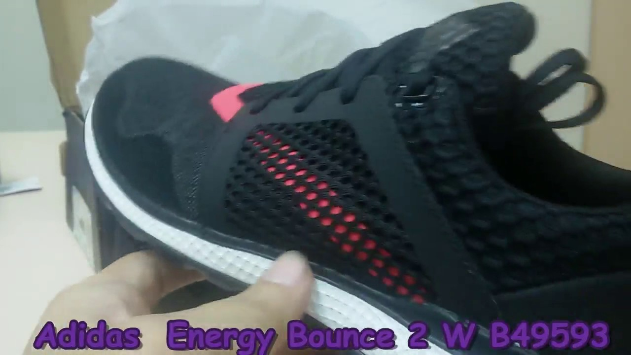 new products e48e2 a174e Unboxing Review Adidas Energy Bounce 2 W B49593