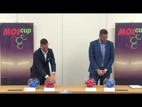 Záznam losu 2. kola MOL Cupu