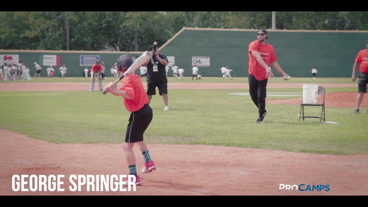 George Springer Baseball ProCamp