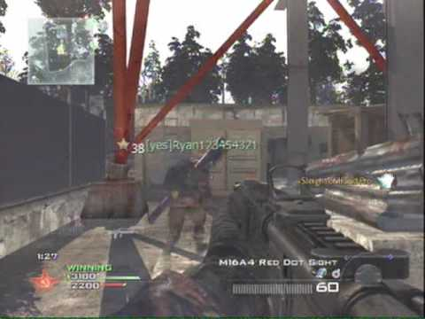 MW2 Spaz Pack vs  Global Espionage