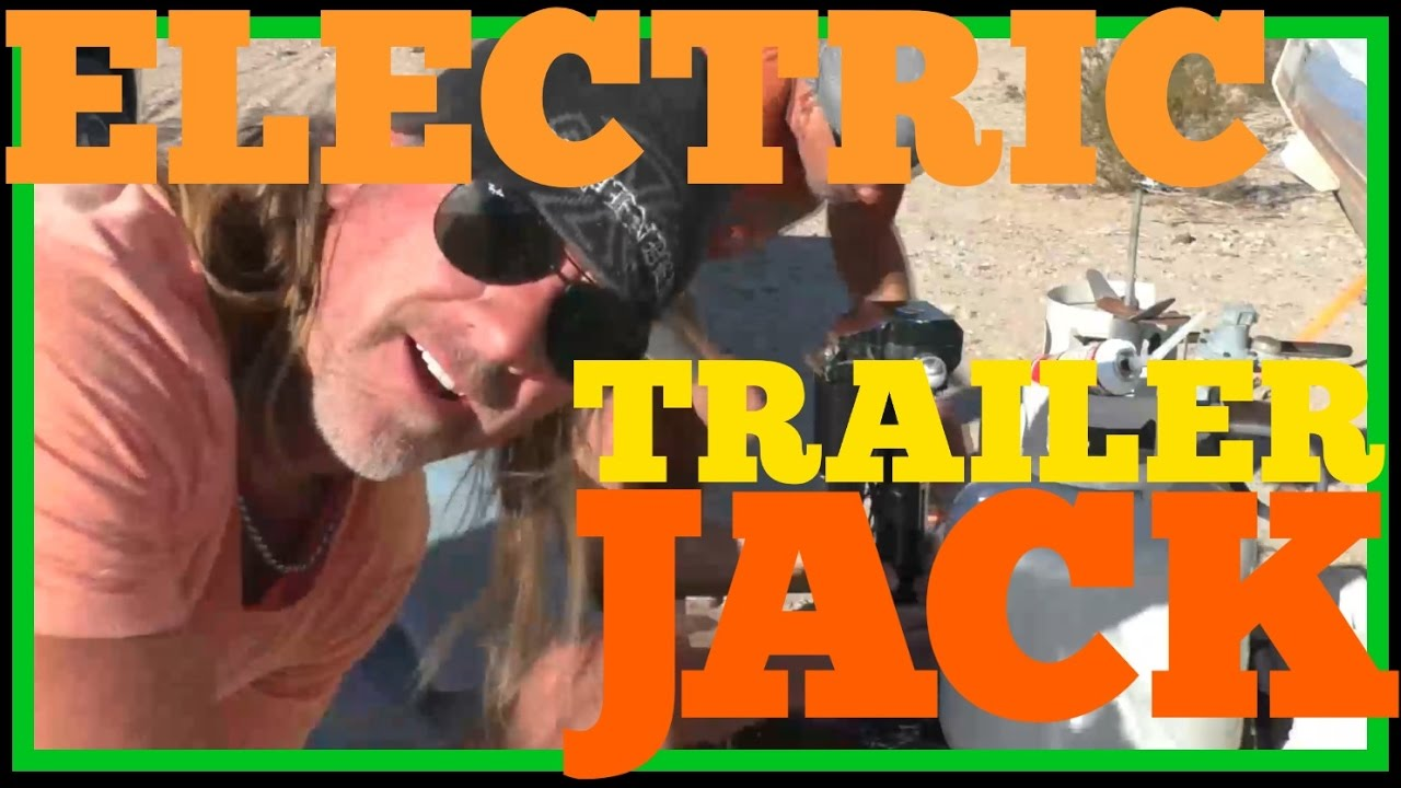 Trailer Jacks How To Install An Electric Jack Youtube Tongue Wiring