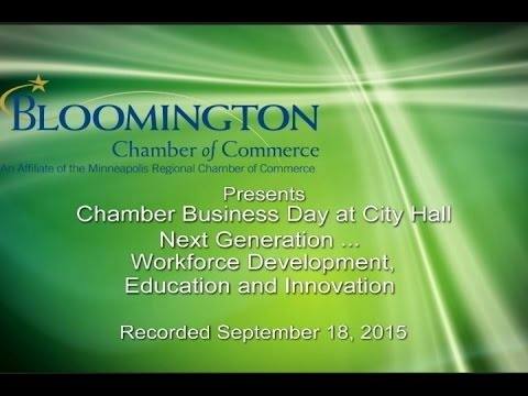 Business Day at City Hall - Connecting Bloomington & Your Business Part II