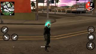 Gta sandreas ghost rider mod with power