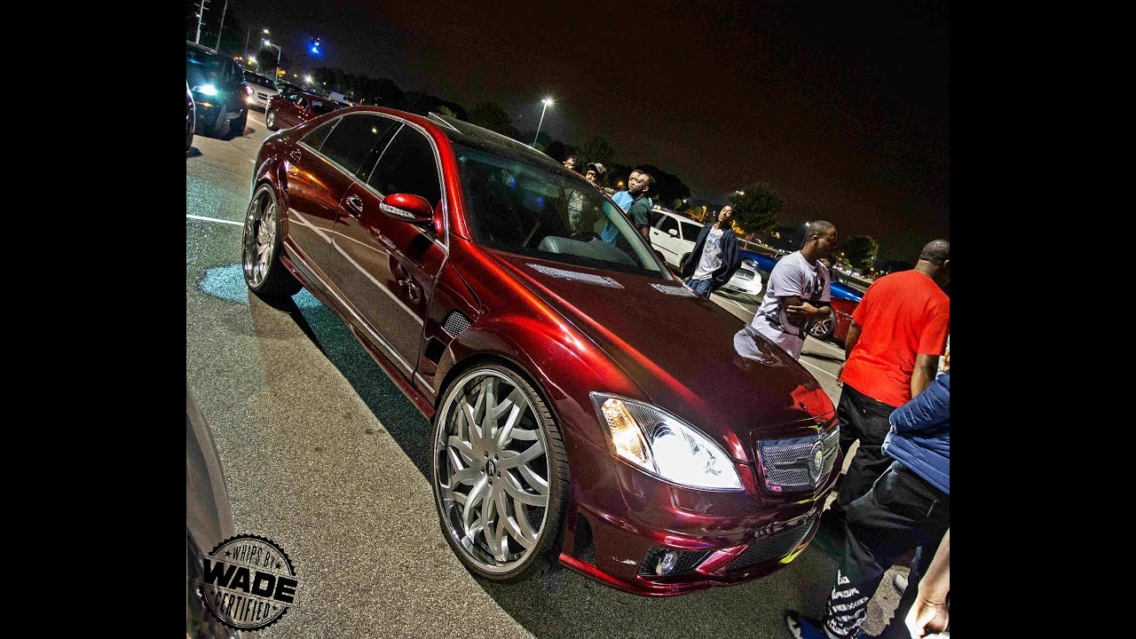 Stuntmania 2015 Candy Brandywine Mercedes S550 On 28