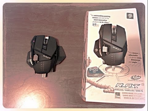 Cyborg R A T  9 Gaming mouse Unboxing And Review
