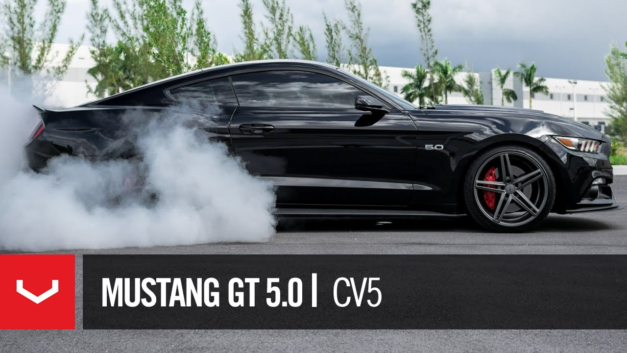 ford mustang gt black stallion roush vossen cv5 youtube - Ford Mustang 2016 Black