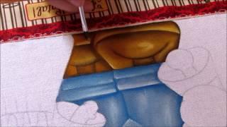 Noel e Biel – pintando a calça e os sapatinhos -Aula 1- Artes Mariana Santos