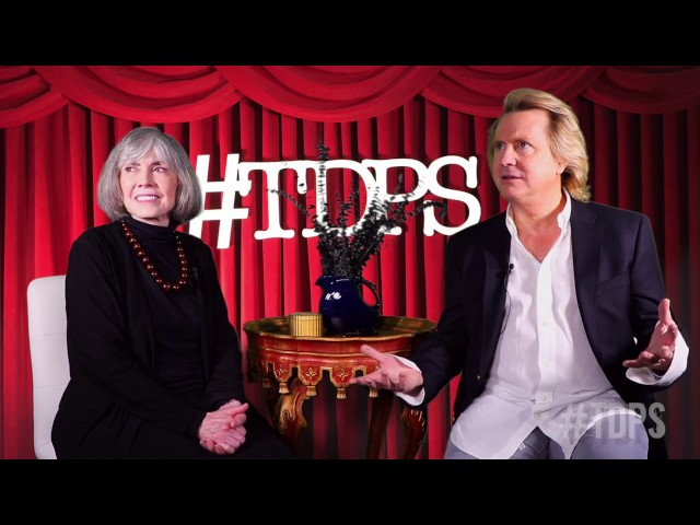 Jordan Ampersand Interviews Anne Rice | #TDPS with Christopher Rice & Eric Shaw Quinn