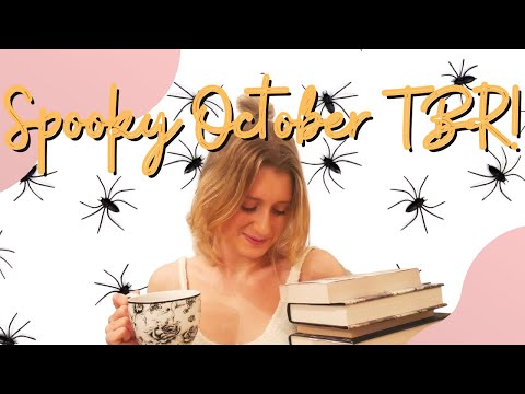 Spooky October TBR! | murder mystery books & adult thriller books to read this fall