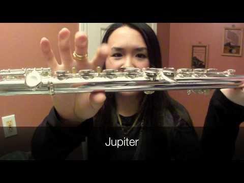 Jupiter Vs Yamaha Flute