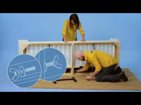 IKEA EKTORP Sofa and Chaise Assembly Instructions