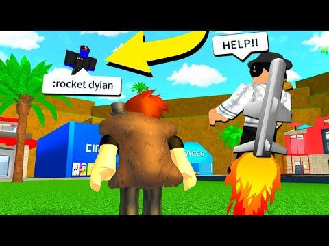 BLUE GUEST TROLLS US WITH ADMIN COMMANDS!! (Roblox)
