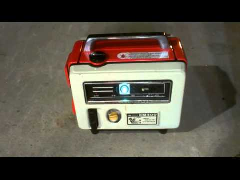 Vintage Honda Generator EM400