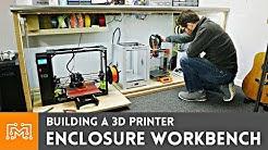 3d Printer Enclosure / Electronics Workstation