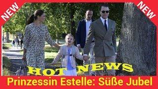 Prinzessin Estelle: Süße Jubel-Tänze bei ihrer Einschulung!