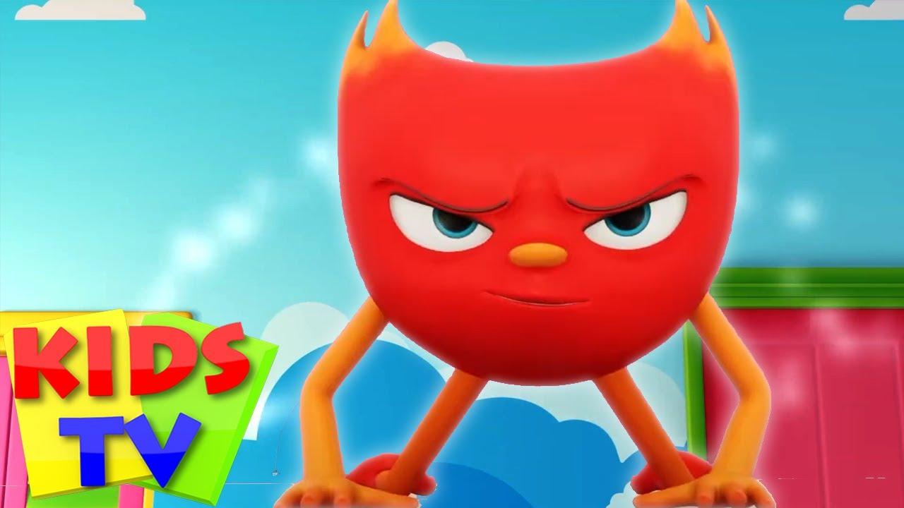 สีแดงอันยิ่งใหญ่ | การ์ตูนตลกเด็ก | การ์ตูน Booya | Kids Tv Thailand | ซีรีส์เด็ก