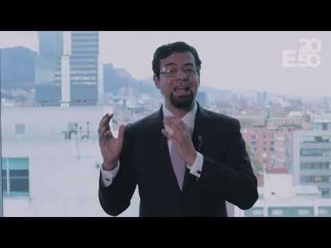 Javier Eduardo Mendoza - Coordinador de la Estrategia E2050 de Colombia, en Expertise France