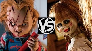Chucky VS Annabelle...Which Is The Scariest? A Child's Play VS Annabelle The Movie Scary Battle!